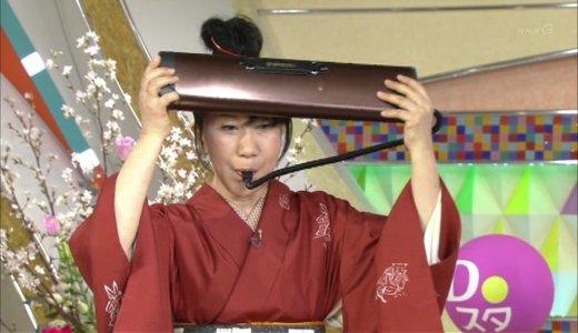 【動画】室井滋さん「特技は頭でピアニカを弾く事です。」