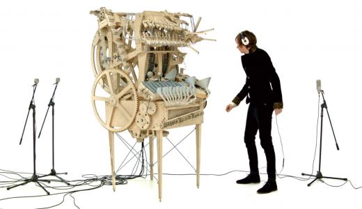 【天才現る】2000個のビー玉を使ったスウェーデン製の新楽器が凄すぎると話題