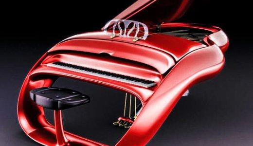 デザイン界の巨匠がデザインしたグランドピアノがお洒落すぎる