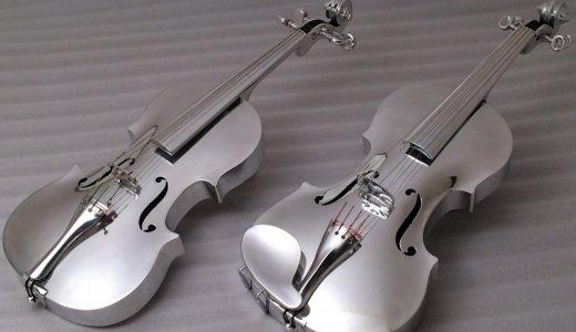 【動画有】アルミニウム製の弦楽器が新鮮でかっこいい!