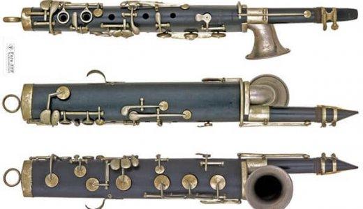1890年頃のドイツ製リード楽器「オクタビン」
