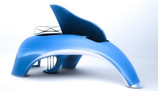 クジラ風デザインの最高級電子ピアノが美しすぎる!