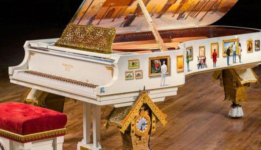【スタインウェイ】2億8千万円の新作ピアノが超お洒落