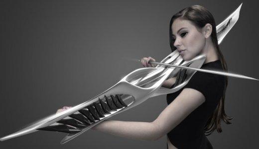 マイアミの建築士がデザインしたヴァイオリンが完全に武器だと話題に